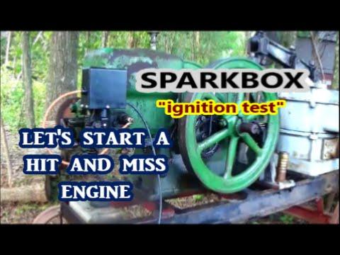 Let's Start a Hit and Miss Engine / Sparkbox EK Alternative