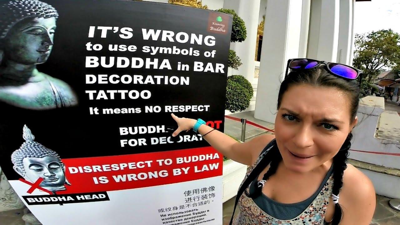S2 E4 Buddha Tattoo Means No Respect Bangkok Thailand Travel