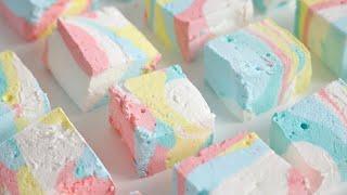 유니콘 마시멜로 만들기 Unicorn Marshmallow Recipe