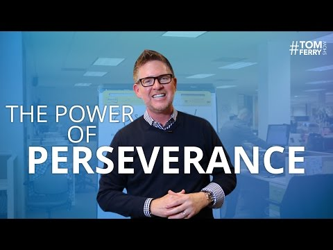 The Power of Perseverance and Mastery | #TomFerryShow Episod