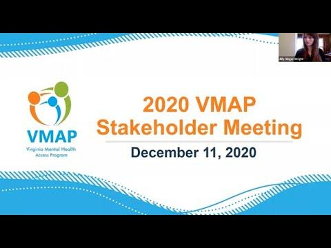 Recording: VMAP 2020 Stakeholder Meeting