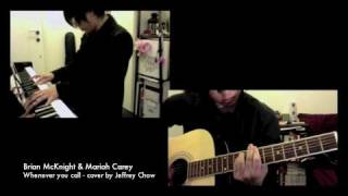 brian mcknight mariah carey whenever you call cover by jeffrey chow piano acoustic version