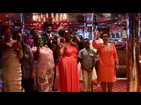 Carnival Dream Wedding May 7, 2017 #SailingWithTheSeatons