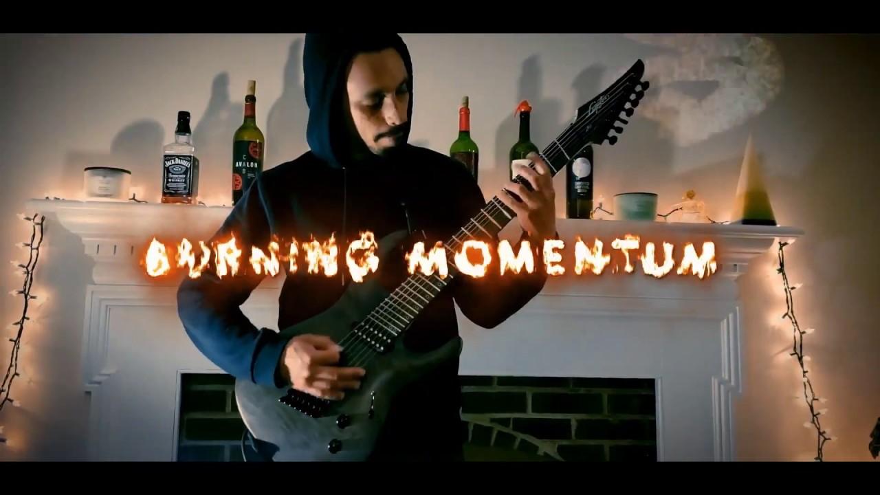 """Alukah debut """"Burning Momentum"""" Video"""