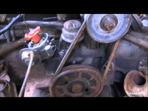 How to install a Volkswagen Distributor - YouTube