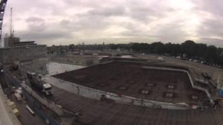 Bouwfilm september 2013 - bekijk de bouw van de andere kant