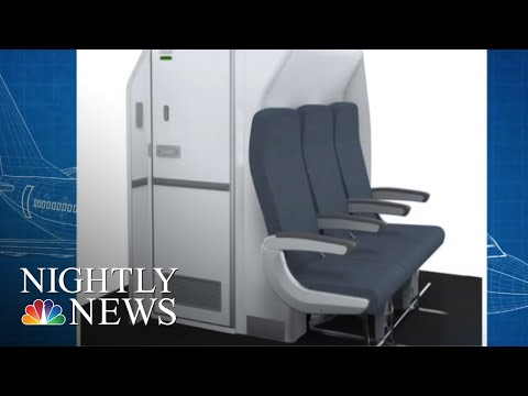 Airlines Shrink Plane Lavatories To Add More Seats | NBC Nightly News
