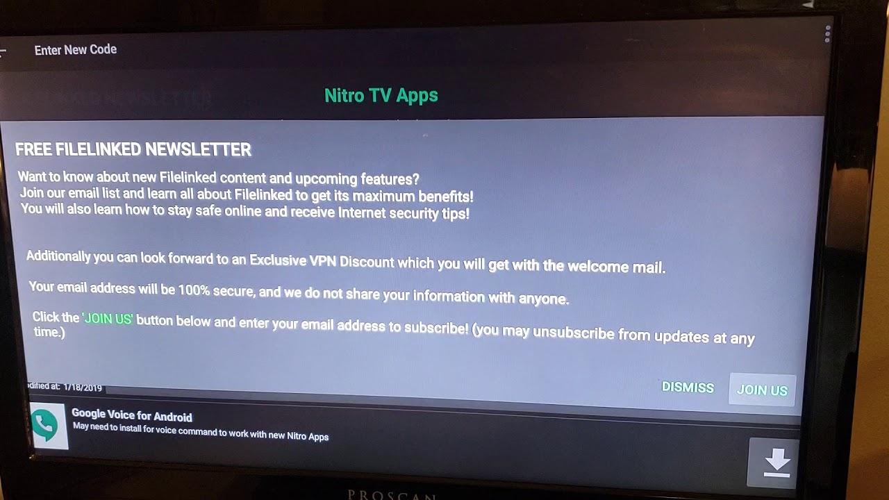 How to delete Nitro TV and Install New Nitrous Tv App