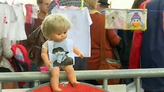"""مظاهرات في بلجيكا بعد مقتل الطفلة """"مودة"""""""
