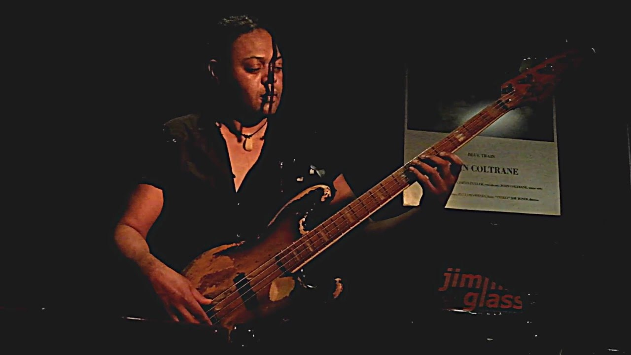 Linley Marthe | bass solo at Jimmy Glass Jazz Bar 2016