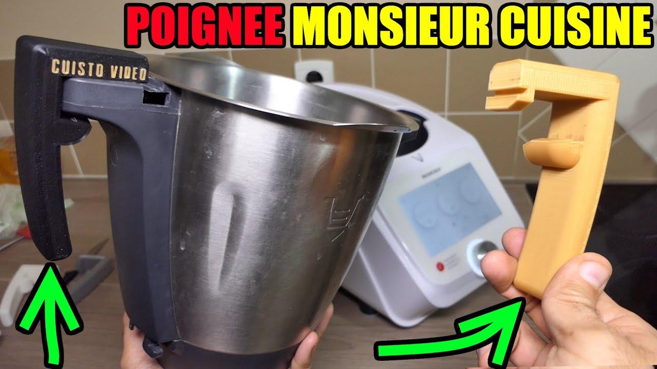 monsieur cuisine connect poignee amovible test et presentation