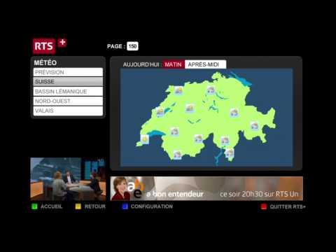 RTS+, le service de TV interactive