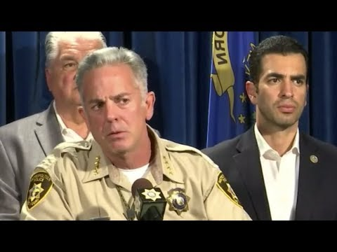 BREAKING: Las Vegas Police and Officials give UPDATE at Press Conference