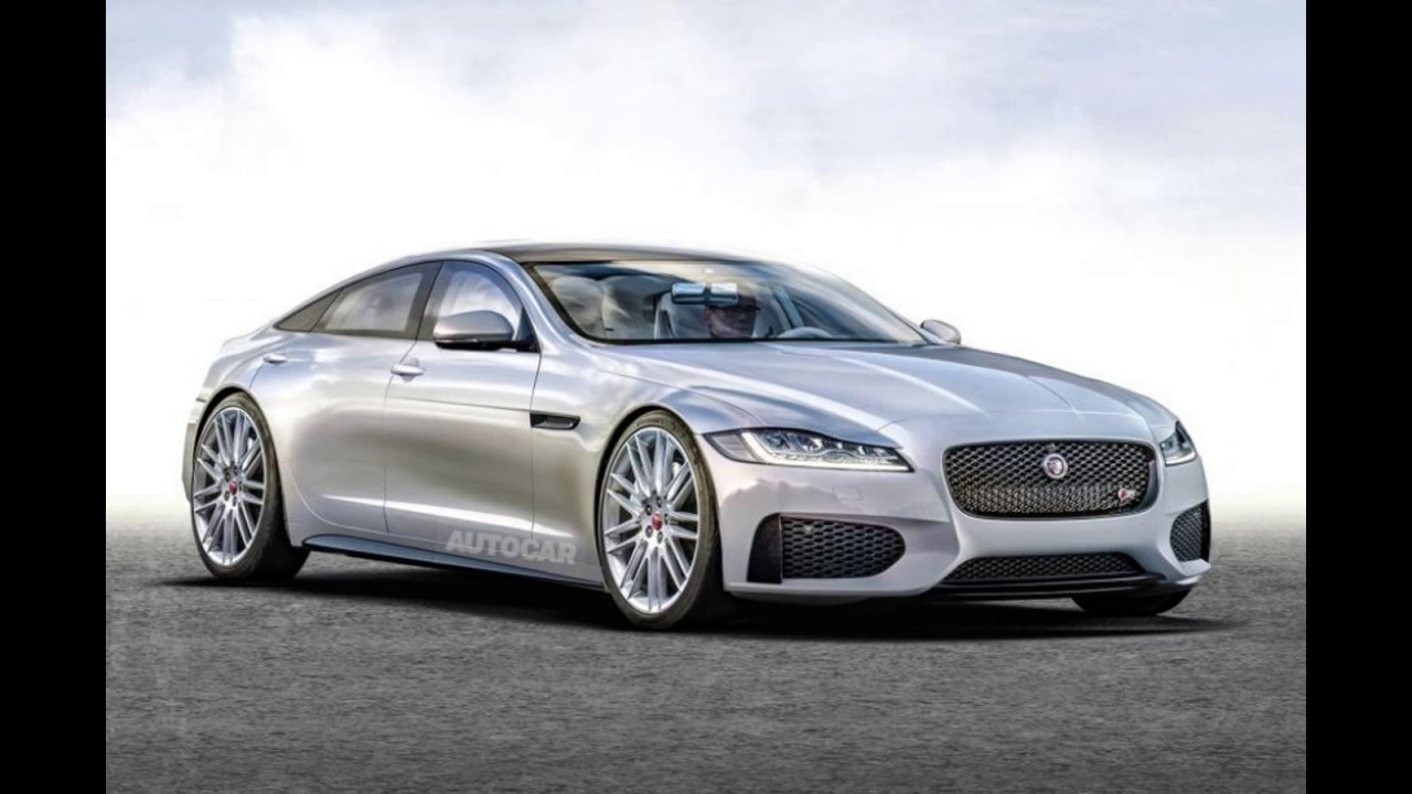new jaguar xj 2018 coupe - youtube