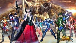 Os Cavaleiros do Zodiaco Almas dos Soldados: A Batalha de Asgard (Com Musica do Anime)
