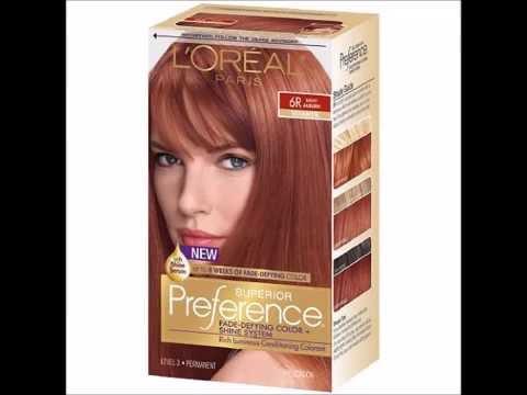 L Oreal Paris Superior Preference Fade Defying Color Shine System Permanent Light Auburn 6r 1 Ea You