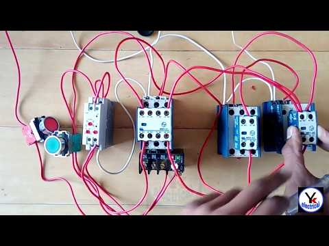 Star - Delta Starter Control Wiring | Auto Star Delta Starter | YK Electrical