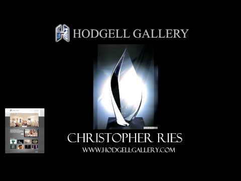 Christopher Ries glass sculpture