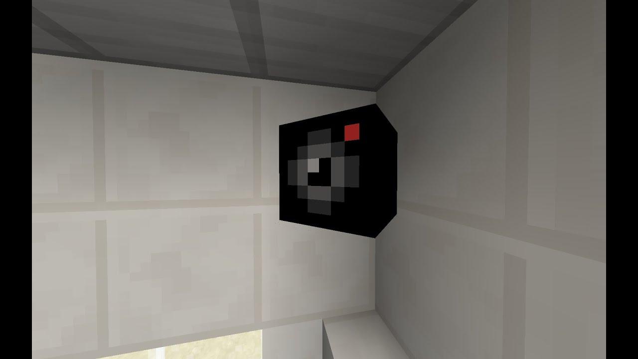Minecraft Security Camera Vanilla Command Block Youtube