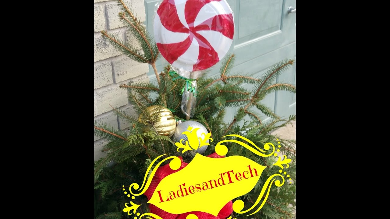 christmas lollipop decoration - Lollipop Christmas Decorations
