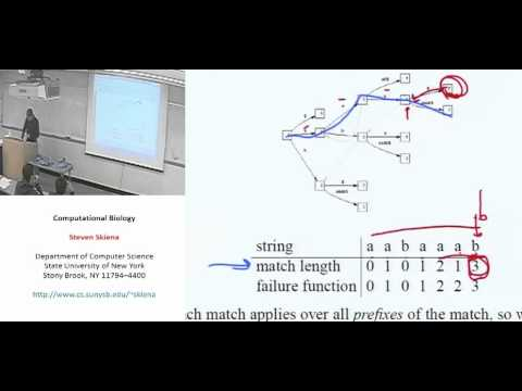 Lecture 8 - String Matching Algorithms