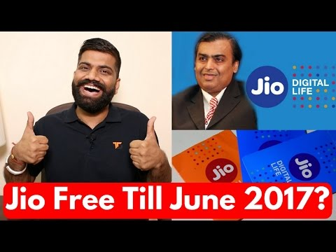 Reliance Jio Free Till 30th June 2017? Latest Reports - My Opinions