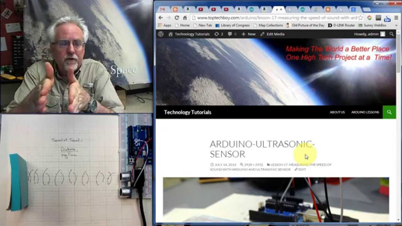 LESSON 17: Measuring the Speed of Sound with Arduino and Ultrasonic