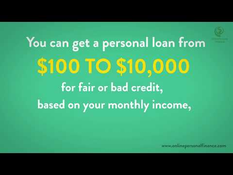bad-credit-personal-loans-guaranteed-approval-direct-lenders-2019