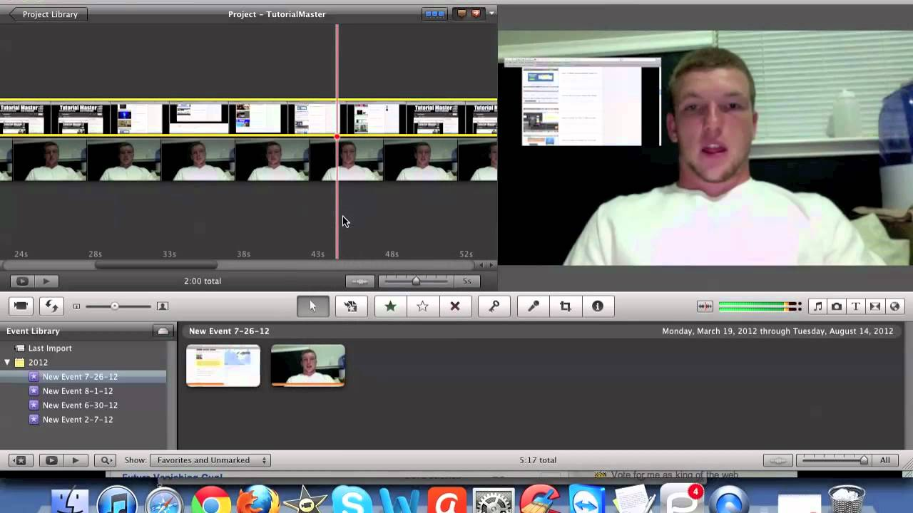 how to use imovie on mac youtube