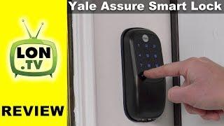 Yale Assure Smart Lock Review - Apple Homekit Version, Works with Siri
