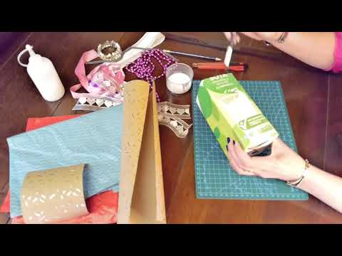 How To Upcycle And Create Decorative Storage Units