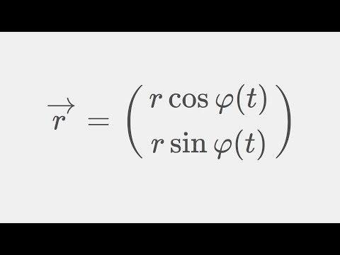 Theoretische Mechanik: Geschwindigkeit in Kugelkoordinaten und Polarkoordinaten