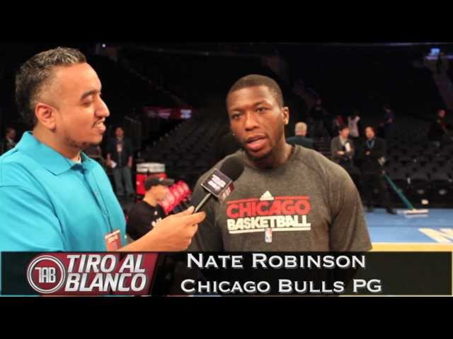 KEEZ ON THE COURT WITH CHICAGO BULLS PG NATE ROBINSON Travel Video