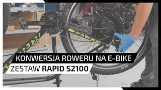 Convert your bike into e-bike - Rapid S2100 Kit