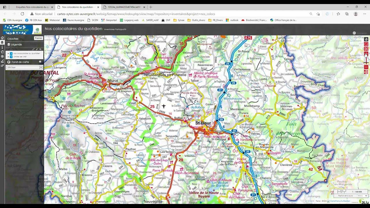 TUTO : comment saisir vos observations sur le site de l'Atlas