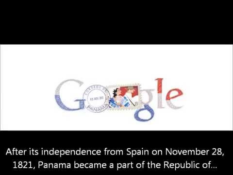 Google Doodle: Seperation Day of Panama from Colombia - Día de la Independencia