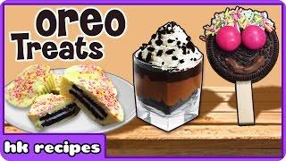 Oreo Treats | Popular Oreo Recipes | Quick And Easy Recipe | HooplaKidz Recipes