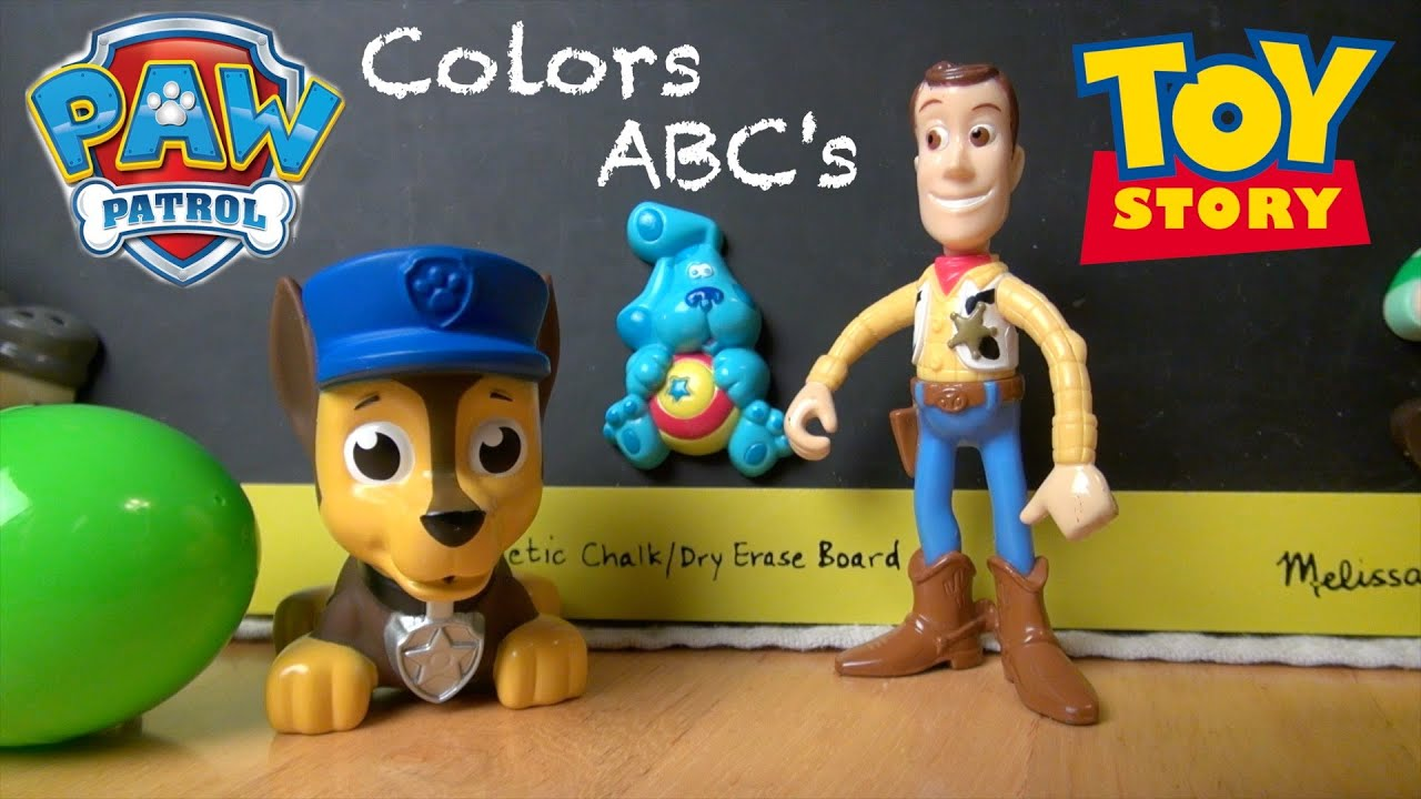 Learn Colors Abc' Alphabet Spelling Paw Patrol Toy