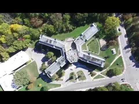 Drone Video University of Western Ontario Campus