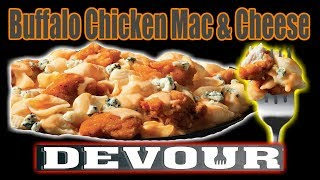 Devour Buffalo Chicken Mac & Cheese - WHAT ARE WE EATING?? - The Wolfe Pit