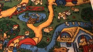 Детские ковры на пол Каникулы (детский-ковролин.com.ua)