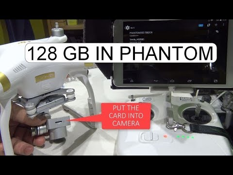 HOW TO INSTALL 128 GB MICRO SD CARD TO DJI PHANTOM 3 SE