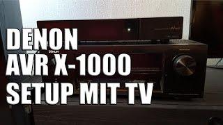 Denon ARC Setup mit Samsung TV - Anleitung zum ARC (Audio Return Channel) einrichten