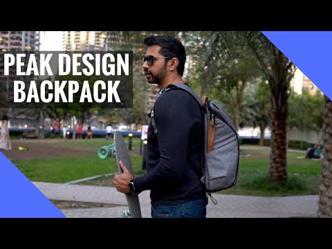 Peak Design Backpack + 🎉 GIVEAWAY DETAILS!