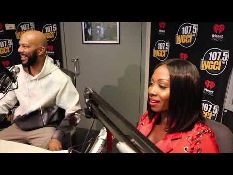 The WGCI Morning Show - Common Comes Through, Speaks on Women, New Music and More!