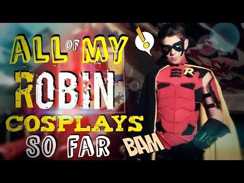 All of My Robin Cosplays So Far