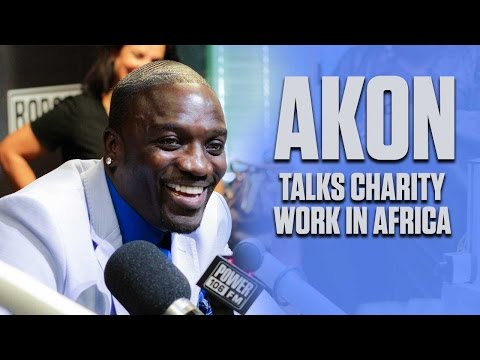 Akon On Solar Lighting For Africa + Strip Club Tips & Tricks
