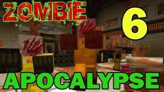 ч.06 Прохождение карты Minecraft - Zombie Apocalypse (миссия 6) Финал