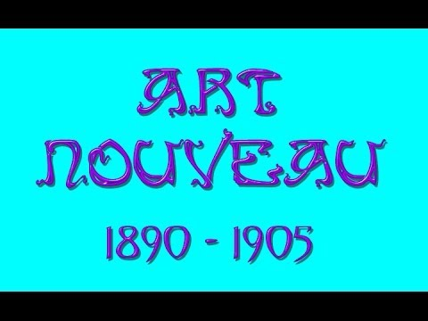 ART NOUVEAU Period Design Visual Learning