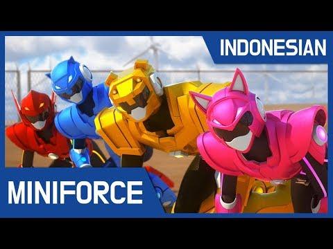 [Indonesian dub.] MiniForce S2 EP7~12